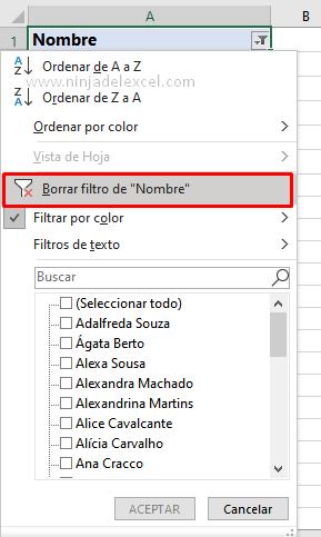 Aprender con Ninja del Excel