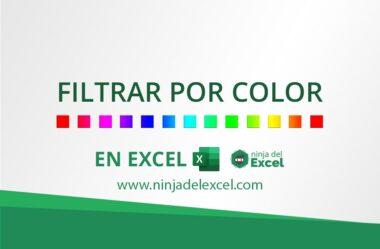 Filtrar Por Color en Excel – Consejo Simple y muy Útil
