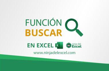 Función BUSCAR en Excel: Paso a Paso Completo