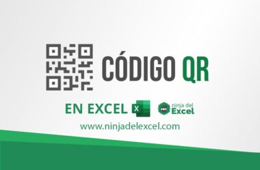 Generación de CÓDIGO QR en Excel – Paso a Paso