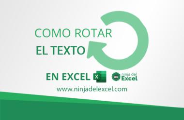 Como Rotar el Texto en Excel (Passo a Paso)