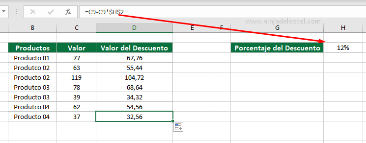 Cómo Bloquear Celda en Excel- tutorial