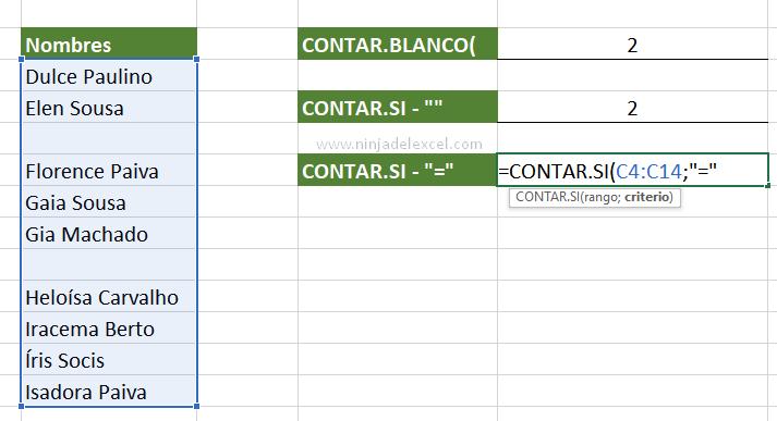 Curso Ninja del Excel