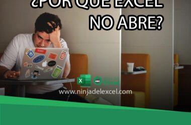 Qué hacer Cuando: ¿Excel no se Abre?