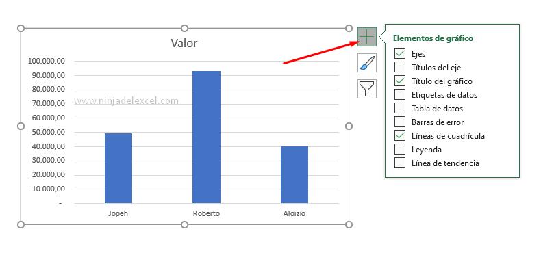 Trabajar con Leyenda en un Gráfico de Excel