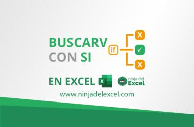 BUSCARV con SI en Excel – Paso a Paso