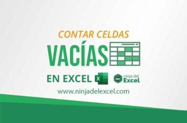 Cómo Contar Celdas Vacías en Excel