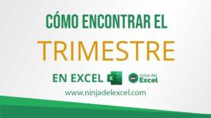 Cómo-Encontrar-el-Trimestre-en-Excel