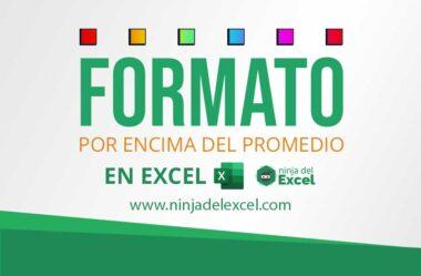 Formato Condicional Superior al Promedio en Excel