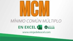 Calcular M.C.M en Excel