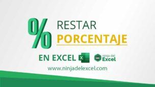 Cómo-Restar-Porcentaje-en-Excel