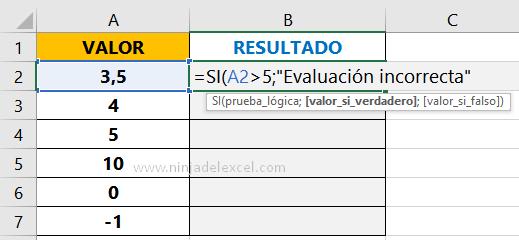 Buscar Función SI con Y en Excel