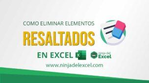 Como-Eliminar-Elementos-Resaltados-en-Excel