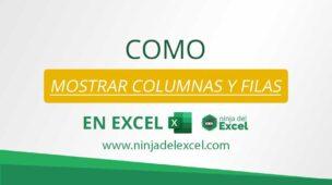 Como-Mostrar-Columnas-y-Filas-en-Excel