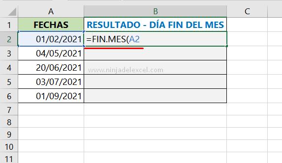 Aprende Como Saber el Último día del Mes en Excel