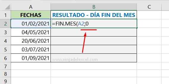 Aprendiendo Como Saber el Último día del Mes en Excel