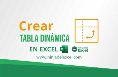 Como Crear una Tabla Dinámica en Excel