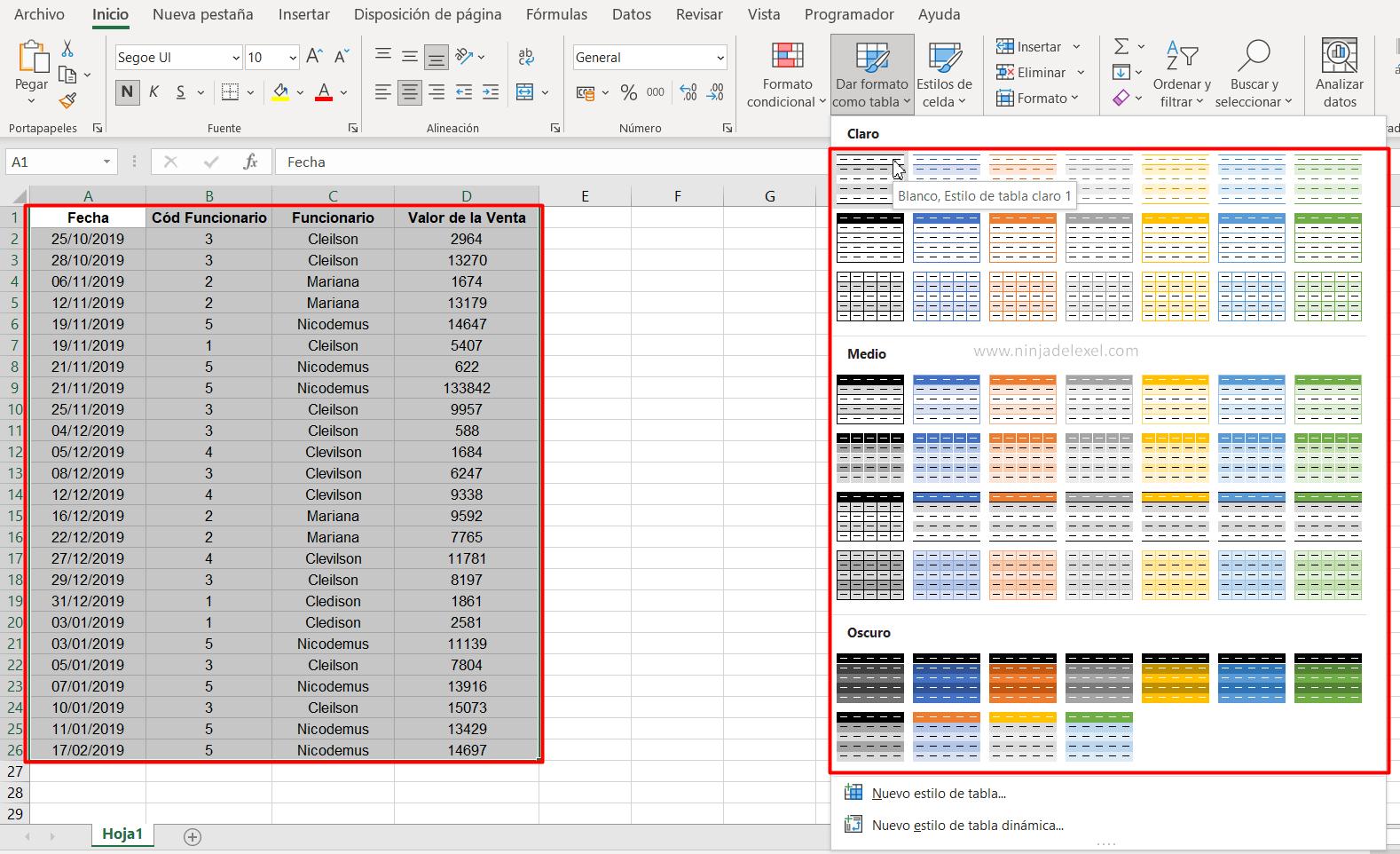 Crear una Tabla Dinámica en Excel