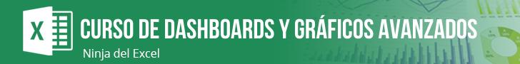 Curso de Dashboard y Gráficos Avanzados en Excel