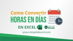Como-Convertir-Horas-en-Días-en-Excel