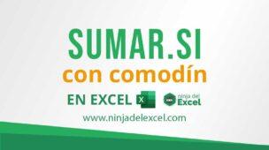 SUMAR.SI en Excel