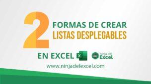 2-Formas-de-Crear-Listas-Desplegables-en-Excel