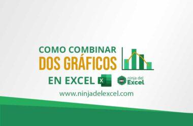 Como Combinar 2 Gráficos en Excel (Paso a Paso)