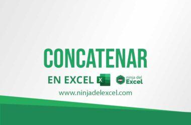 Aplicaciones de la Función CONCATENAR en Excel