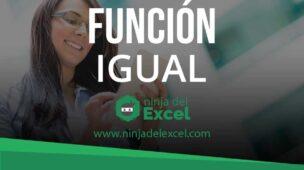 Función Igual en Excel