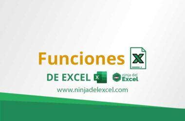 Funciones de Excel – Principales Funciones