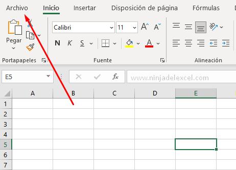 Ocultar Pestañas de Hojas de cálculo en Excel Paso a paso